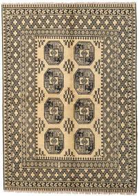 Afghan Teppich 170X230 Echter Orientalischer Handgeknüpfter Dunkel Beige/Hellbraun (Wolle, Afghanistan)