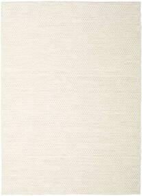 Kelim Honey Comb - Beige Teppich 290X390 Echter Moderner Handgewebter Beige/Weiß/Creme Großer (Wolle, Indien)