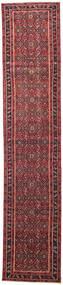 Hamadan Patina Teppich  78X380 Echter Orientalischer Handgeknüpfter Läufer Rot/Dunkelrot (Wolle, Persien/Iran)