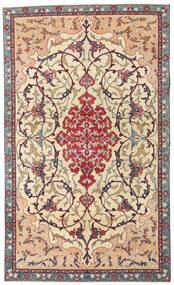 Najafabad Patina Teppich 140X236 Echter Orientalischer Handgeknüpfter Beige/Dunkelbraun (Wolle, Persien/Iran)