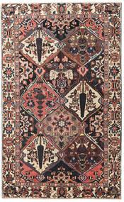 Bachtiar Patina Teppich 150X247 Echter Orientalischer Handgeknüpfter Dunkelbraun/Dunkelrot (Wolle, Persien/Iran)