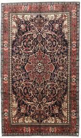 Bidjar Teppich  195X330 Echter Orientalischer Handgeknüpfter Schwartz/Hellbraun (Wolle, Persien/Iran)