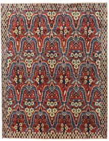 Bachtiar Teppich  195X250 Echter Orientalischer Handgeknüpfter Dunkelrot/Dunkelgrau (Wolle, Persien/Iran)