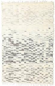 Barchi/Moroccan Berber - Indisch Teppich  152X241 Echter Moderner Handgeknüpfter Beige/Hellgrau (Wolle, Indien)