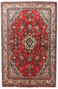Hamadan Patina Teppich 130X200 Echter Orientalischer Handgeknüpfter Dunkelrot/Dunkelbraun (Wolle, Persien/Iran)