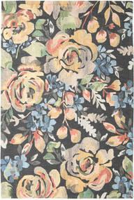 Colette - Multi Teppich  200X300 Moderner Dunkelgrau/Gelb (Wolle, Indien)