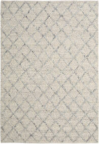 Rut - Silber/Grau Melange Teppich  250X350 Echter Moderner Handgewebter Hellgrau/Dunkel Beige Großer (Wolle, Indien)