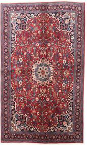 Bidjar Teppich  130X220 Echter Orientalischer Handgeknüpfter Dunkellila/Rot (Wolle, Persien/Iran)
