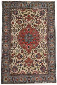 Ardebil Patina Teppich 195X300 Echter Orientalischer Handgeknüpfter Dunkelbraun/Hellbraun (Wolle, Persien/Iran)