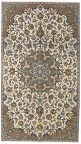 Najafabad Patina Teppich 155X270 Echter Orientalischer Handgeknüpfter Beige/Dunkelgrau (Wolle, Persien/Iran)