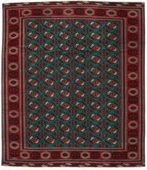 Turkaman Patina Teppich  293X338 Echter Orientalischer Handgeknüpfter Dunkelrot/Dunkelbraun Großer (Wolle, Persien/Iran)