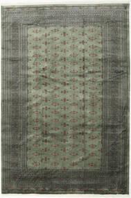Pakistan Buchara 3Ply Teppich  243X358 Echter Orientalischer Handgeknüpfter Dunkelgrau/Hellgrau (Wolle, Pakistan)