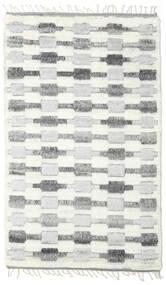 Barchi/Moroccan Berber - Indisch Teppich  152X245 Echter Moderner Handgeknüpfter Weiß/Creme/Hellgrau (Wolle, Indien)