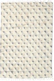 Barchi/Moroccan Berber - Indisch Teppich  161X239 Echter Moderner Handgeknüpfter Beige/Hellgrau (Wolle, Indien)