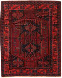 Lori Teppich 168X208 Echter Orientalischer Handgeknüpfter Dunkelrot/Rost/Rot (Wolle, Persien/Iran)