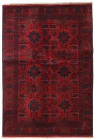 Afghan Khal Mohammadi Teppich 132X189 Echter Orientalischer Handgeknüpfter Dunkelrot/Dunkelbraun (Wolle, Afghanistan)