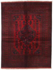 Afghan Khal Mohammadi Teppich 151X196 Echter Orientalischer Handgeknüpfter Dunkelrot/Dunkelbraun (Wolle, Afghanistan)