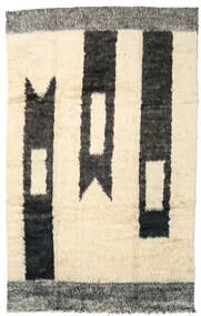 Moroccan Berber - Afganistan Teppich  186X300 Echter Moderner Handgeknüpfter Beige/Dunkel Beige (Wolle, Afghanistan)