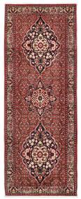 Bidjar Takab/Bukan Teppich 80X217 Echter Orientalischer Handgeknüpfter Läufer Dunkelrot/Beige (Wolle, Persien/Iran)