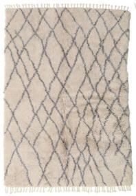 Barchi/Moroccan Berber - Indisch Teppich  160X230 Echter Moderner Handgeknüpfter Hellgrau (Wolle, Indien)