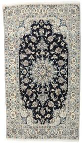 Nain Teppich  118X210 Echter Orientalischer Handgeknüpfter Hellgrau/Dunkelgrau (Wolle, Persien/Iran)