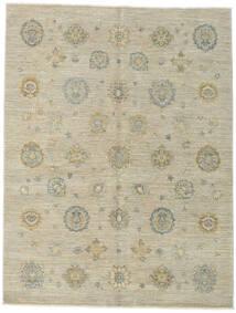 Ziegler Ariana Teppich 154X203 Echter Orientalischer Handgeknüpfter Dunkel Beige/Olivgrün/Hellgrau (Wolle, Afghanistan)