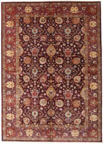 Ziegler Ariana Teppich 173X242 Echter Orientalischer Handgeknüpfter Dunkelrot/Braun (Wolle, Afghanistan)