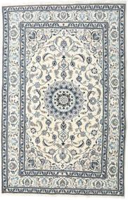 Nain Teppich  195X299 Echter Orientalischer Handgeknüpfter Beige/Hellgrau (Wolle, Persien/Iran)