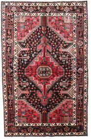 Toiserkan Teppich  152X241 Echter Orientalischer Handgeknüpfter Dunkelbraun/Dunkelrot (Wolle, Persien/Iran)
