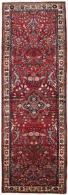 Mehraban Teppich  108X316 Echter Orientalischer Handgeknüpfter Läufer Dunkelrot/Braun (Wolle, Persien/Iran)