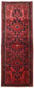 Hamadan Teppich  109X306 Echter Orientalischer Handgeknüpfter Läufer Dunkelrot/Rot (Wolle, Persien/Iran)