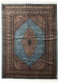 Pakistan Buchara 3Ply Teppich  207X284 Echter Orientalischer Handgeknüpfter Dunkelgrau/Schwartz (Wolle, Pakistan)