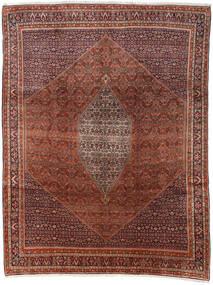 Bidjar Teppich 285X374 Echter Orientalischer Handgeknüpfter Dunkelbraun/Dunkelrot Großer (Wolle, Persien/Iran)
