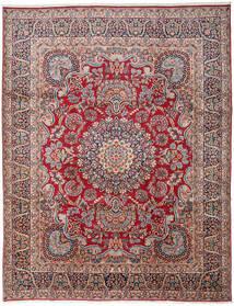 Kerman Teppich 303X391 Echter Orientalischer Handgeknüpfter Dunkelgrau/Dunkelrot Großer (Wolle, Persien/Iran)