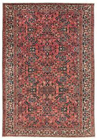 Bachtiar Teppich  220X311 Echter Orientalischer Handgeknüpfter Dunkelrot/Schwartz (Wolle, Persien/Iran)