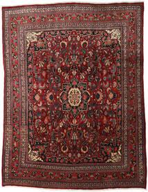 Bidjar Teppich  260X347 Echter Orientalischer Handgeknüpfter Dunkelrot/Dunkelbraun Großer (Wolle, Persien/Iran)