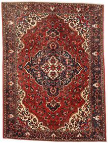 Bachtiar Teppich  260X353 Echter Orientalischer Handgeknüpfter Dunkelrot/Dunkelbraun Großer (Wolle, Persien/Iran)