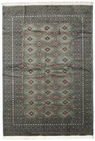 Pakistan Buchara 2Ply Teppich  206X293 Echter Orientalischer Handgeknüpfter Dunkelgrau/Schwartz (Wolle, Pakistan)