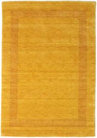 Handloom Gabba - Gold Teppich 140X200 Moderner Orange/Gelb (Wolle, Indien)