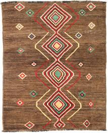 Moroccan Berber - Afghanistan Teppich  150X183 Echter Moderner Handgeknüpfter Braun/Hellbraun (Wolle, Afghanistan)