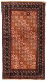 Belutsch Teppich  100X172 Echter Orientalischer Handgeknüpfter Rot/Schwartz (Wolle, Persien/Iran)