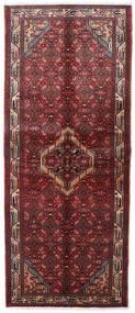 Asadabad Teppich  83X203 Echter Orientalischer Handgeknüpfter Läufer Dunkelrot (Wolle, Persien/Iran)