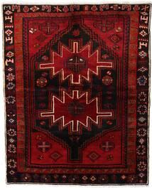 Lori Teppich 165X204 Echter Orientalischer Handgeknüpfter Dunkelbraun/Dunkelrot (Wolle, Persien/Iran)