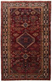 Lori Teppich 161X262 Echter Orientalischer Handgeknüpfter Dunkelrot/Dunkelbraun (Wolle, Persien/Iran)