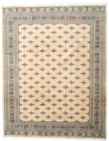 Pakistan Buchara 3Ply Teppich  249X317 Echter Orientalischer Handgeknüpfter Beige/Hellgrau (Wolle, Pakistan)