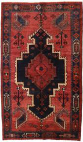 Lori Teppich 147X248 Echter Orientalischer Handgeknüpfter Dunkelrot/Schwartz/Rost/Rot (Wolle, Persien/Iran)