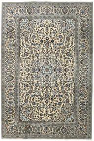 Keshan Teppich 196X292 Echter Orientalischer Handgeknüpfter Dunkelgrau/Hellgrau (Wolle, Persien/Iran)