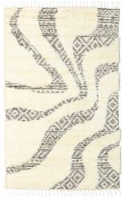 Barchi/Moroccan Berber - Indisch Teppich  160X230 Echter Moderner Handgeknüpfter Weiß/Creme/Beige (Wolle, Indien)