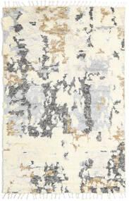 Barchi/Moroccan Berber - Indisch Teppich  160X230 Echter Moderner Handgeknüpfter Beige/Hellgrau (Wolle, Indien)