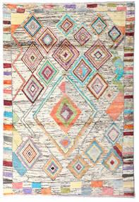 Moroccan Berber - Afghanistan Teppich  119X176 Echter Moderner Handgeknüpfter Beige/Dunkel Beige (Wolle, Afghanistan)